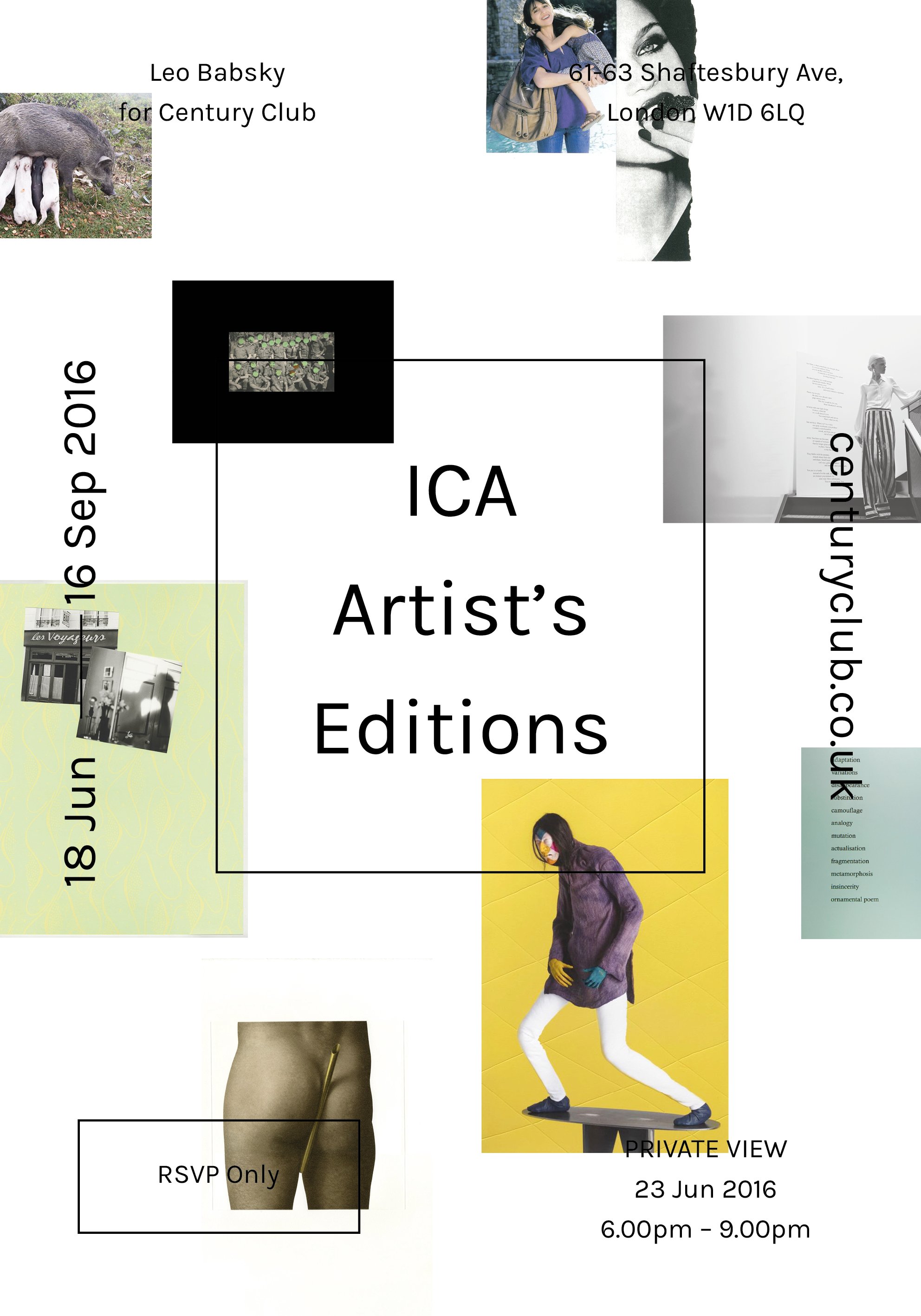 ICA: ARTIST'S EDITIONS
