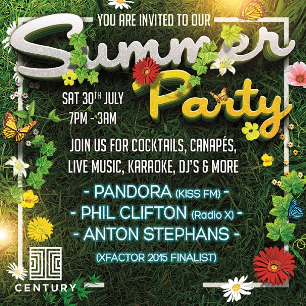 CENTURY SUMMER PARTY