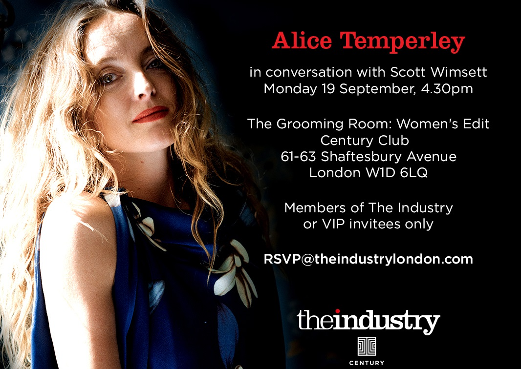 TALK: IN CONVERSATION WITH ALICE TEMPERLEY