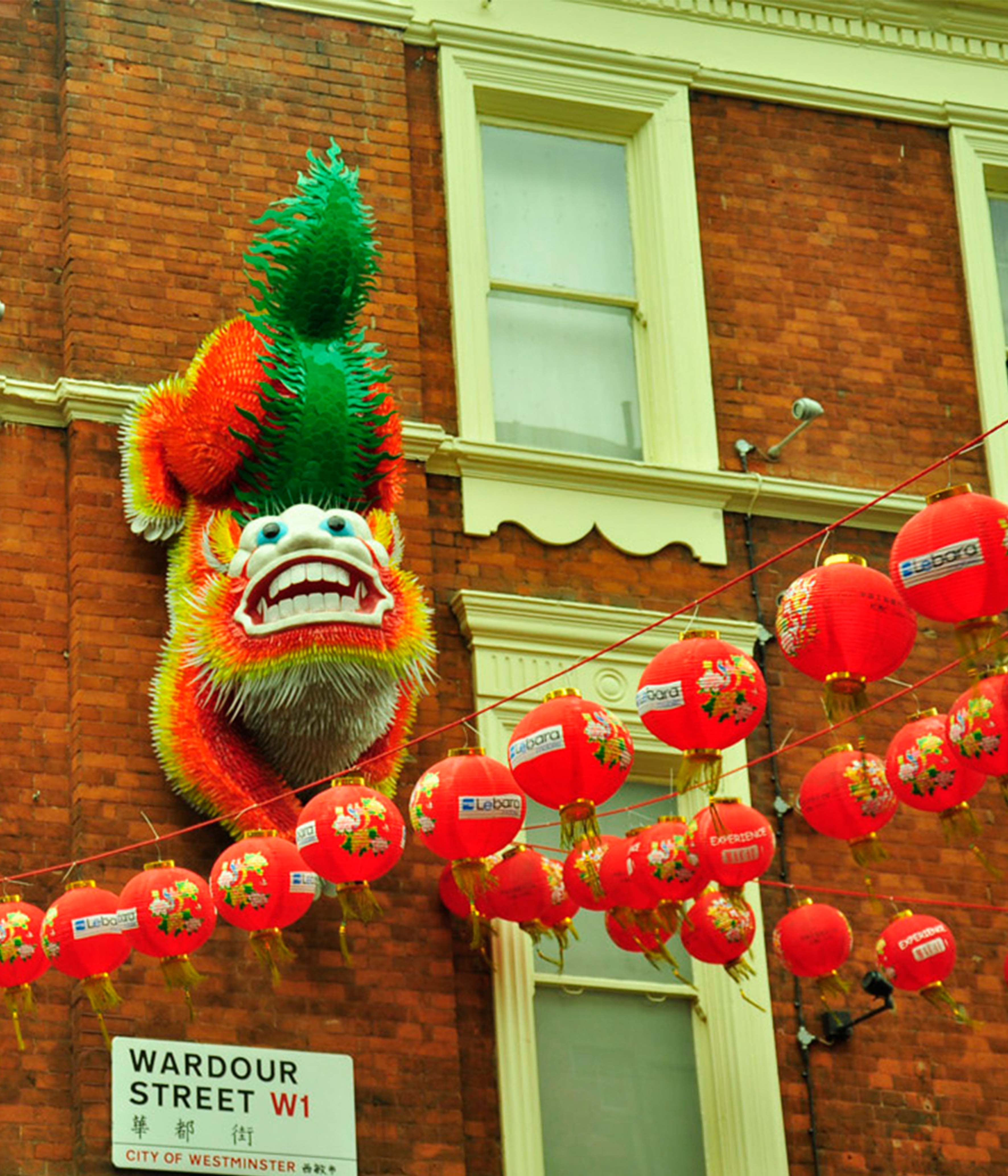 CHINESE NEW YEAR ROOF CELEBRATIONS