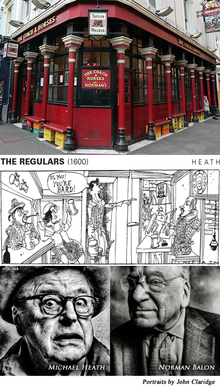THE GILDED GUTTER LIFE - THE LIFE & TIMES OF SOHO'S MOST INFAMOUS PUB & LONDON'S RUDEST LANDLORD