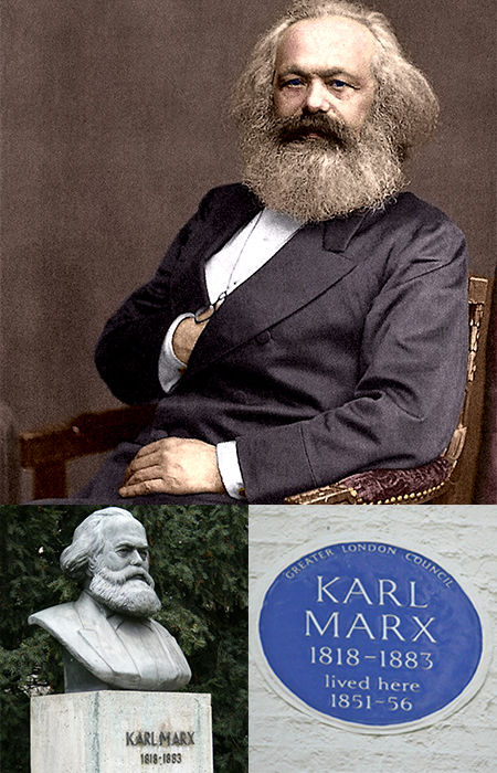 SALON TALKS | KARL MARX - THE PHILOSOPHER IN SOHO